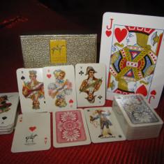 SET DUBLU CARTI DE JOC PIATNIK VIENA IN MINIATURA - Carti poker