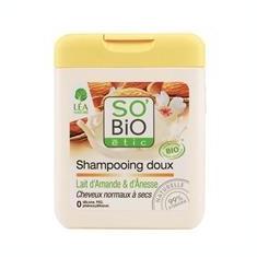 Sampon Bio Par Uscat cu Lapte Migdale si Magarita So'Bio Etic 250ml Cod: 1333418 - Tratament par