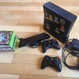 Xbox 360 Microsoft Slim 4GB + 2Controllere + Kinect + 9 jocuri