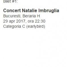 Bilete concert Natalie Imbruglia 29 Aprilie 2017 Bucuresti - Bilet concert