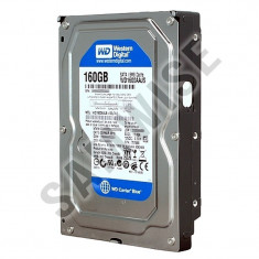 Hard Disk 160GB Western Digital Caviar, SATA2, 7200rpm, WD1600AAJS GARANTIE !!, 100-199 GB, 8 MB