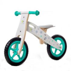 Bicicleta din lemn fara pedale Runner Stars Deluxe - Bicicleta copii Kinderkraft