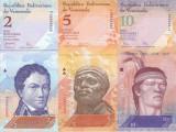 Bancnota Venezuela 2, 5 si 10 Bolivares 2007-09 - P88-90 UNC ( set 3 bancnote )