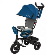 Tricicleta 6 in 1 cu Scaun Rotativ Swift Albastru - Tricicleta copii Kinderkraft
