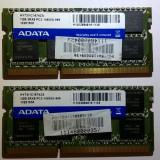 Ram laptop A-data  8GB 2*4gb PC3-10600 DDR3 1333Mhz HY73I1C1674ZS PC3 1.5V 1139, 8 GB, 1333 mhz