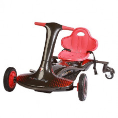Kart Electric Turnado Drift Negru - Masinuta electrica copii