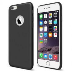 Husa iPhone 6s 6 Neagra - Husa Telefon, iPhone 6/6S, Gel TPU, Carcasa