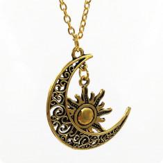 Pandantiv / Colier / Lantisor - GAME OF THRONES - Moon of My Life - Auriu - Pandantiv fashion