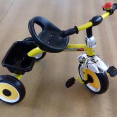 Tricicleta copii cu cos in spate