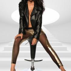 Pantaloni Colanti Golden - Lenjerie sexy femei