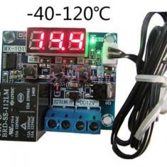 Termostat electronic digital controler temperatura -40-120℃ Wx-101W cu releu 12A