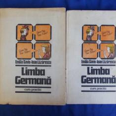 EMILIA SAVIN - LIMBA GERMANA * CURS PRACTIC [ VOL.1 + VOL.2 ] - 1985 - Curs Limba Germana