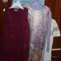 Lot 4 rochite tricot pentru fetite - OKAZIE, Marime: 30, Culoare: Multicolor