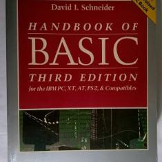 David I. Schneider - Handbook of Basic: Third Edition