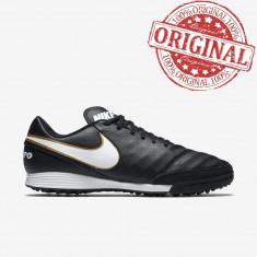 Nike Tiempo Genio II TF COD: 819216 010 - Produs original. Ghete teren sintetic - Ghete fotbal Nike, Marime: 40, Culoare: Din imagine, Barbati, Teren sintetic: 1