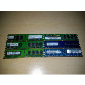 Memorie PC desktop 2GB DDR2 800 Mhz PC6400 (1x2Gb) TESTATA