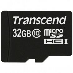 Card de memorie Transcend Micro SDHC 32 GB Clasa 10