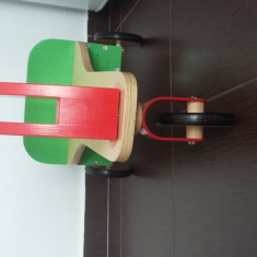 Tricicleta de lemn