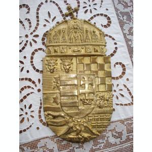 blazon stem UNGARIA bronz