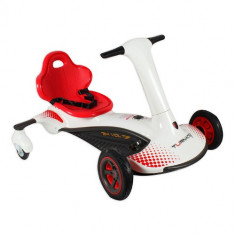 Kart Electric Turnado Drift Alb - Masinuta electrica copii