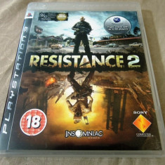 Joc Resistance 2, exclusiv PS3, original, alte sute de jocuri! - Jocuri PS3 Sony, Shooting, 16+, Single player