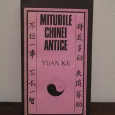 Miturile Chinei Antice - Yuan Ke - Carte mitologie