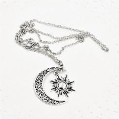 Pandantiv / Colier / Lantisor - GAME OF THRONES - Moon of My Life - Argintiu