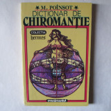 Dictionar de Chiromantie, M Poinsot, Evenimentul, 1993