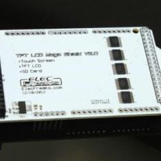 "Shield pentru ecrane LCD TFT 2.4""  3.2'' 4.3"" 5.0"" 7.0"" arduino mega"