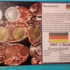 Monede Set euro Germania Berlin 2002A, Europa