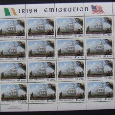 IRLANDA - CORABII, 1 M/SH NEOBLITERATA - E5687
