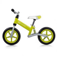 Bicicleta fara Pedale EVO Green - Bicicleta copii Kinderkraft, 12 inch