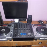 Urgent 2x Cd player Pioneer cdj 800 mk2 + Mixer American Audio 4 canale