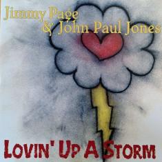 JIMMY PAGE & JOHN PAUL JONES (LED ZEPPELIN) - LOVIN' UP A STORM, 1996