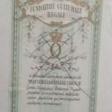 Timbru fiscal/cultura - Fundatiile Culturale Regale - Carol II, Stampilat