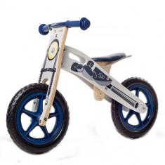 Bicicleta din lemn fara pedale Runner Moto Deluxe - Bicicleta copii Kinderkraft