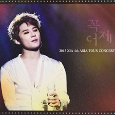 Xia (Jyj) - 2015 Xia 4th Asia Tour.. ( 3 DVD ) - Stilou