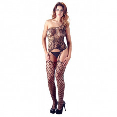 Elagant Body Catsuit - Lenjerie sexy femei, Negru, L