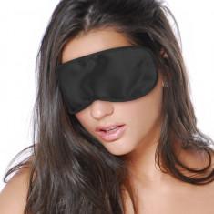 Fetish Fantasy Series Satin Love Mask Black - Lenjerie sexy femei, Negru