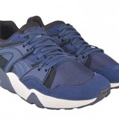 Puma Trinomic Bleumarin - Nr.41, 42, 43 - Import Anglia - Adidasi barbati Puma, Culoare: Albastru