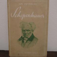 SCHOPENHAUER-ION PETROVICI - Filosofie