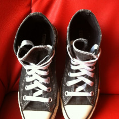 Converse All Star originali, high top, nr.36, 5-23 cm. - Tenisi dama Converse, Culoare: Negru, Textil