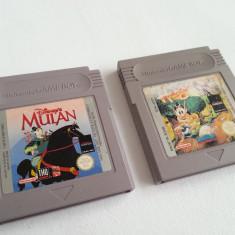 2x discheta Nintendo Game Boy clasic joc caseta consola colectie vechi rar retro - Jocuri Game Boy