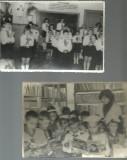 LOT DE 3 FOTOGRAFII CU PIONIERI