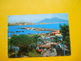 HOPCT  28627  Napoli /Litoralul MERGELLINA -ITALIA-STAMPILOGRAFIE-CIRCULATA, Printata