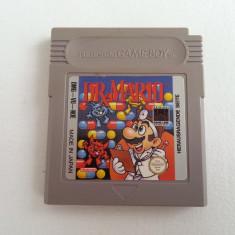 Joc Dr Mario discheta Nintendo Game Boy clasic colectie vechi rar retro caseta - Jocuri Game Boy