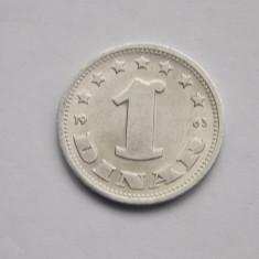 1 DINAR 1963 IUGOSLAVIA-AUNC, Europa