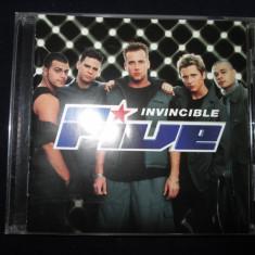 Five - Invincible _ cd, album _ RCA(EU) _ europop - Muzica Pop rca records
