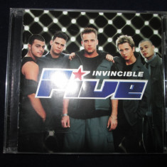 Five - Invincible _ cd, album _ RCA(EU) _ europop - Muzica Pop rca records