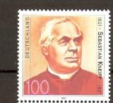 GERMANIA 1997 – PREOT SEBASTIAN KNEIPP, timbru nestampilat, R15